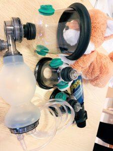 ペット用の酸素マスク